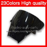 Wholesale honda chrome for sale - Group buy 100 New Motorcycle Windscreen For HONDA VFR800 Interceptor VFR VFR800RR Chrome Black Clear Smoke Windshield