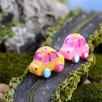 Wholesale Moss Cars - Sale mini colorful car mix designs fairy garden miniatures gnomes moss terrariums resin craft dollhouse for home decoration accessories diy