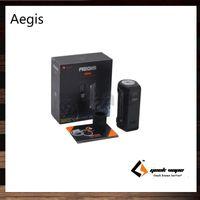 Wholesale Wholesale Design Metal - GeekVape Aegis Box Mod 100W TC Waterproof Shockproof Dust-proof Design Supports 18650   26650 Cell 100% Original