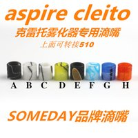 Wholesale Plastic Mouth Clearomizer - 2016 someday cleito drip tip Plastic Drip Tips wholeale mouth pieces for Electronic Cigarette Clearomizer atomizer with fast delivery