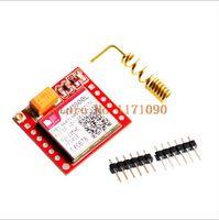 Wholesale Gsm Modules Wholesale - Wholesale-Smallest SIM800L GPRS GSM Module MicroSIM Card Core BOard Quad-band TTL Serial Port