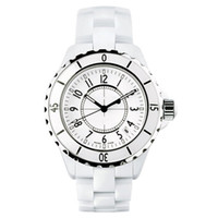 Wholesale Luxury Ladies Watches Brands - Luxury Brand Lady White Black Ceramic Watches High Quality Quartz Wristwatches For Women Fashion Exquisite Women Watches