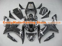 Wholesale New Hot Fairings Kits - 3 Free Gifts New motorcycle Fairings Kits For YAMAHA YZF-R1 2002 2003 r1 02 03 YZF1000 bodywork hot sales black color