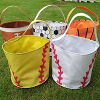 2016 New Coming Sports Wholesale Blanks Microfiber Halloween Bucket Treat ou Trick Tote Halloween Gift Collection Bag DOM106349