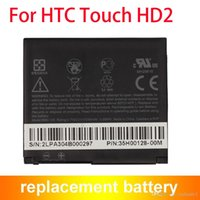Wholesale Hd2 Battery - Replacement Battery For HTC HD2 HD 2 T8185 T8585 T8588 T9193 DOPOD LEO100 BB81100 Grade AAA