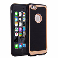 Wholesale Ace Silicone - 2016 Ringke Brushed Silicone Case TPU+TPU Back Cover Hybrid Protector for iPhone 6s 6plus 5s SE 4s Samsung Galaxy S7 Edge Note5 J1 Ace J5 J7