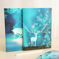 Wholesale 2pcs Cute Notebook Diary Book Stationery Office Material School Supplies Fashion Gift Prize Notebook Kid Prize
