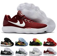 Nouveau Hyperdunk 2017 Faible EP Hommes Basketball Chaussures Sneakers Respirant Hyper Dunk Basket Ball Sport Hyperdunks Chaussures Sneakers Boosts US7-12