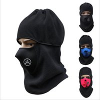 Multifonction néoprène hiver Snowboard Ski Full Face Mask Soft Cotton Fleece Neck Ear Head Warmer Protection Biker Motorcycle Facemask