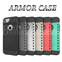 Wholesale Armor Moto - Hybrid Armor PC TPU 2 in 1 Case Rugged Impact Case For iPhone 6 7 Plus Samsung S7 Edge OnePlus 3 LG Moto