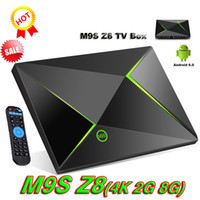 M9S Z8 Smart OTT casella Amlogic S905X Android 6.0 KD 16.1 completamente caricato 2GB DDR3 RAM 8GB emmc Flash Miracast Google Streaming Media Player