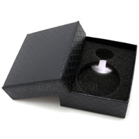 Wholesale Gray Pocket Watch - Wholesale-Pocket Watch Accessories Gray Velvet Xmas Gift Boxes Cases Free Shipping