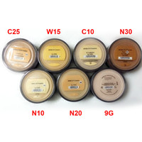 Wholesale Mineral Foundation Wholesale - 2016 Makeup Minerals Foundation 8g SPF15 Medium Light Fair Tan Fairly Light Medium Beige Mineral Vail