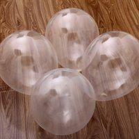 Wholesale April 18 - 25PCS Clear Latex Pearl Balloons Transparent Round Balloon Party Wedding Birthday Anniversary Decor 18 inch new