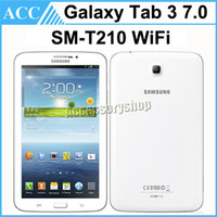 Wholesale Core Manufacturers - Refurbished Original Samsung Galaxy Tab 3 SM-T210 T210 7 inch Dual Core 1.2GHz 8GB Wifi 3MP Camera Android Tablet PC