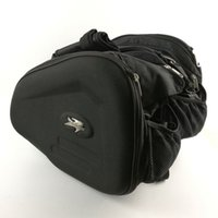 Wholesale Helmet Motorcycle Can - New Riding Tribe 2 bags motorcycle saddle bag backpack side bag really waterproof cover Can put down the helmet