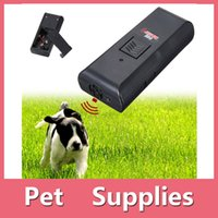 Wholesale Quality Plastic Products - 2016 New Arrival High Quality Black Dog Pet Ultrasonic Aggressive Dog Repeller Train Stop Barking Training Device Shipping DHL Free 161008