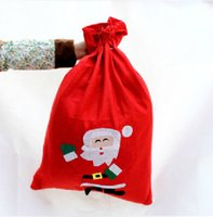 Wholesale Santa Claus Backpack - Christmas Gift Bags Candy Bag Christmas Decoration Non-woven Gift Bag Backpack Promotional Gifts Santa Claus Snowman