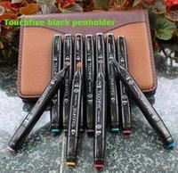 Wholesale Micron Pen Set - 30 colors black touchfive markers manga water color marker line pen pro art marker brush pen touchnew twin art pigma micron korean markers