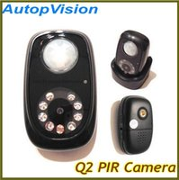 Wholesale Dvr Q2 - Q2 PIR Detector Camera Mini DVR with Night vision and Infrared body induction