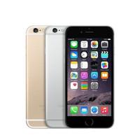 téléphone 4s 16gb achat en gros de-100% Original Reconditionné Apple iPhone 6 iphone 6 plus 4.7 pouces iOS Débloqué Téléphone or Gris Argent en stock