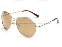 Wholesale Different Sunglasses - 2016 Grey Ant New Arrival Pretty Fashion Sunglasses Younger Pink Mirror Designer Sunglasses For Women Mix Different Colors