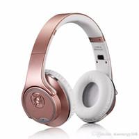 ubit bluetooth lautsprecher großhandel-Ubit MH1 NFC 2in1 Twist-Out-Lautsprecher Bluetooth Kopfhörer mit FM-Radio / AUX / TF-Karte MP3 Sports Magic Stirnband Wireless Headset 39-EM