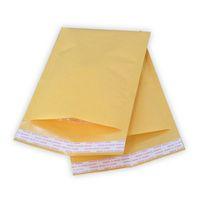Wholesale poly bubble envelopes online - 270mmx145mm mmx185mm mmx120mm destructive open self sealing poly bubble Kraft paper envelope mailer bags