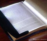 Wholesale Lightwedge Led Book Light - LED Book Wedge Reading Night Light Panel Led Reading Light Panel Light Wedge Paperback Creative LED Light Lamp Lightwedge