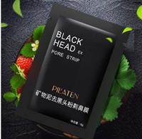 pilaten emme siyah maske toptan satış-3600 adet DHL PILATEN Emme Siyah Maske Yüz Bakımı Maskesi Derin Temizlik Yırtılma Stil Gözenek Şerit Derin Temizlik Burun Akne Siyah Nokta Yüz Maskesi