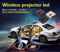 Wholesale Welcome Projector Lights - Wireless Car Door Lights Logo Projector Welcome Led Lam Hundreds Of Designs To Choose 2017 Hot free shipping via DHL Fedex TNT