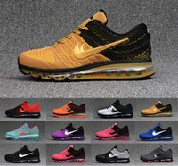 Wholesale Max Sneakers For Men - 2017 max KPU running shoes for men sports shoes high quality Trainers 2017.5 maxes sneaker size US 7-13