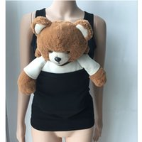 Wholesale Maternity T Shirt Baby - Mother's Baby Holder T shirt Multi-functional Kangaroo Baby Carrier vest Maternity top 6 sizes