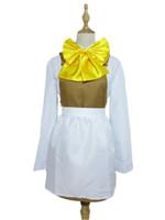 rin kagamine cosplay costume venda por atacado-Vocaloid 2 Cosplay Alice de Sacrifício Humano Rin Kagamine Costume