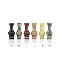 Wholesale Wholesale Price Jade - Six color jade vase mouthpiece 510 drip tip for 510 RDA RBA atomizer vivi nova dct mech mod vaporizer many choise low price