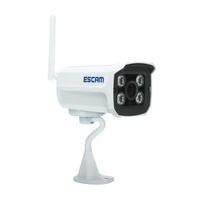 cámara de bala ir ip66 al por mayor-ESCAM Ladrillo QD900 WIFI 2.0MP Full HD 1080P Red IR Bullet Visión nocturna IP66 onvif Cámaras ip inalámbricas impermeables al aire libre
