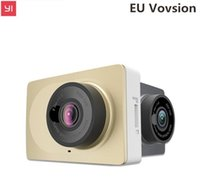 DHL Aggiornamento <b>International Edition</b> Xiaomi YI Smart Car DVR fotocamera Wifi senza fili Xiaoyi ADAS dvr fotocamera Dash Cam 1296P / 1080P 60fps auto dvr
