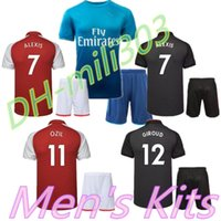 4e503623c Alexis jersey 2017 2018 FC ARS Adult kit OZIL WILSHERE RAMSEY GIROUD  LACAZETTE Soccer Jersey 17 18 Alexis Sanchez football jerseys