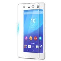 For Sony For Xperia Z 9H Hardness Tempered Glass Screen Protecter for SONY C3 C4 C5 Z5plus Glass Protector For SONY Mobile Phone Anti-scratch