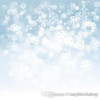 Wholesale Printed photography background fabric snow backdrop ft width x ft D