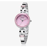 Wholesale Jewel Watch Fashion - Wholesale-Hot Sales! Kimio Fashion Women Dress Watches Dress Ladies Bracelet Watches for Women Diamond Jewel Lucky Clover Quartz Watches