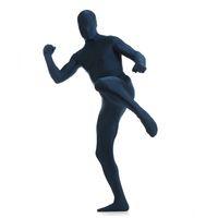 Wholesale Zentai Catsuit Mens Black - Wholesale-Mens Lycra Bodysuit Full Body Zentai Suit Custom Second Skin Tight Suits Halloween Costume For Men