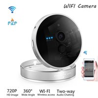 Wholesale Smart Home HD IP Camera Pixels WiFi plug play security camera wireless P2P H Audio Chatting by IOS Android phone