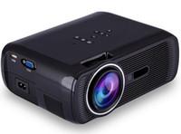 Wholesale mhl vga - BL-80 1080P HD Mini Portable Projector LED Cenima Home Theater AV USB SD VGA HDMI 1920x1080 LCD Projectors