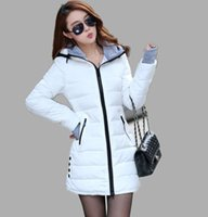 Wholesale Down Feather Clothing - High Quality Wadded Clothing Female 2016 New Women's Winter Jacket Down Cotton Jacket Slim Parkas Ladies Coats Plus Size Mens Girl XS-X