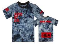 Wholesale Ktz Bandana T Shirt - Hood by air summer mens leather sleeve t shirts DGK tshirt men 2016 ktz bandana t-shirt skateboard Hip hop hba swag tops tees