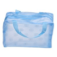 Wholesale Transparent Toothbrush - Wholesale-Cheap Hot Sale Portable Makeup Cosmetic Bags Transparent Toiletry Travel Wash Toothbrush Pouch Organizer Bag