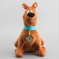 8a63f9f4b42 Large Size 35cm Scooby Doo Dog Plush Toys Stuffed Animals Children Soft  Dolls Toys Free Shipping