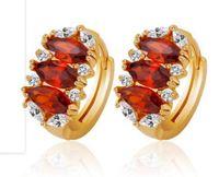 Wholesale Earings Color Diamond - more color diamond cirlce lady's earings (1.3*0.7cm)