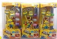 Wholesale Despicable Cell - Special Despicable Me Cartoon Earphones Colorful Rainbow In-ear Earphone 3.5mm Earbuds With Beedo Earphone For Smartphone